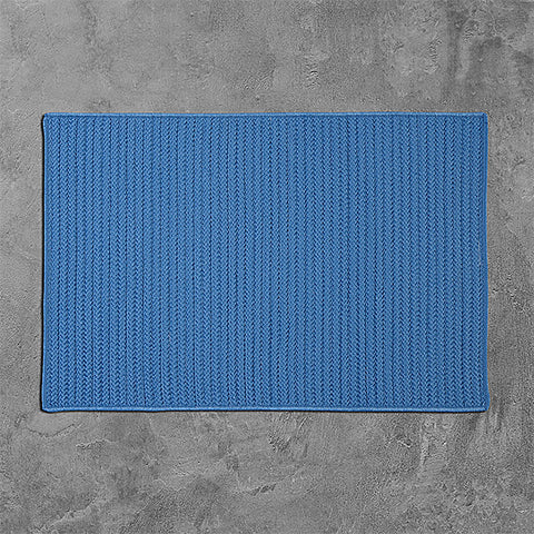 Colonial Mills Simply Home Solid H870 Blue Ice Area Rug main image
