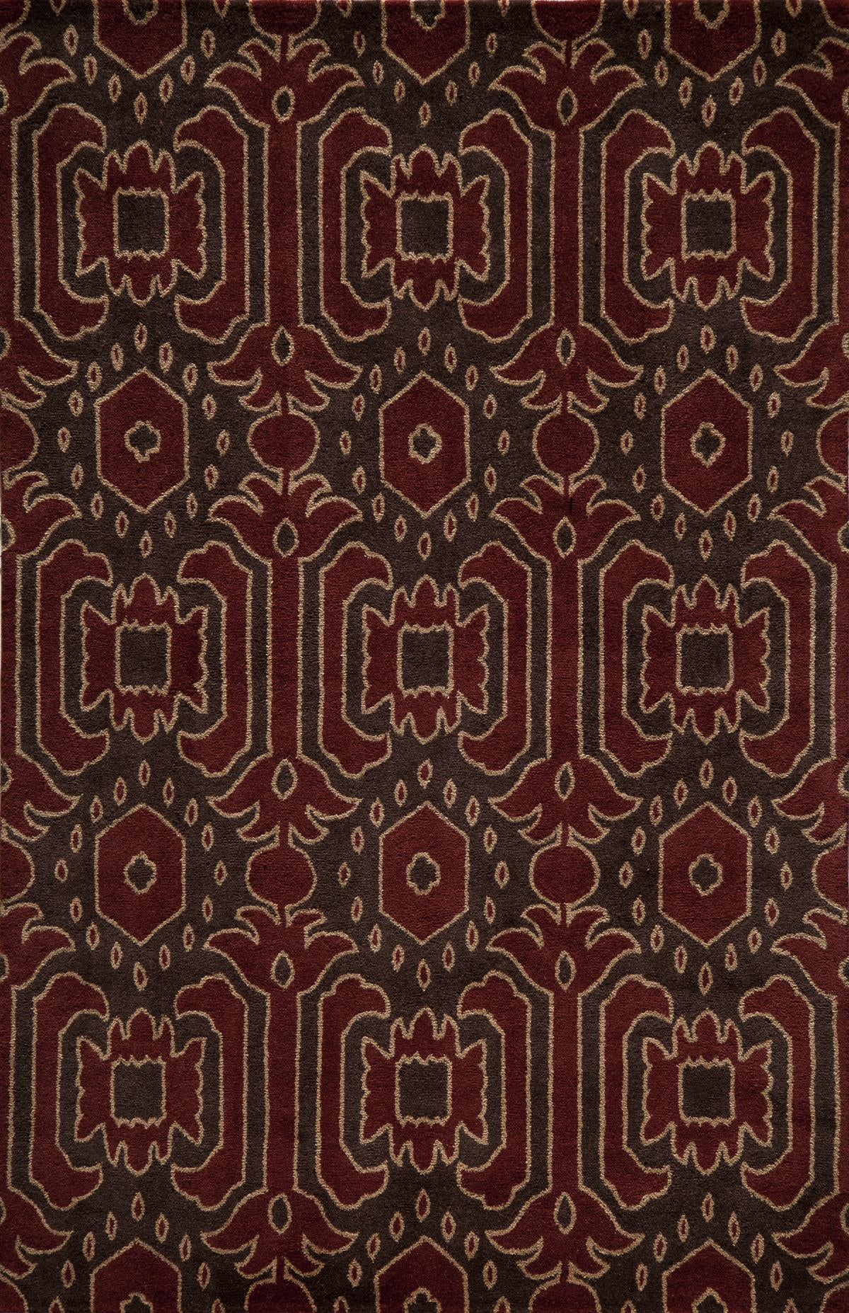 Momeni Habitat HB-01 Brown Area Rug main image