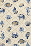 KAS Harbor 4217 Sand Seaside Hand Woven Area Rug