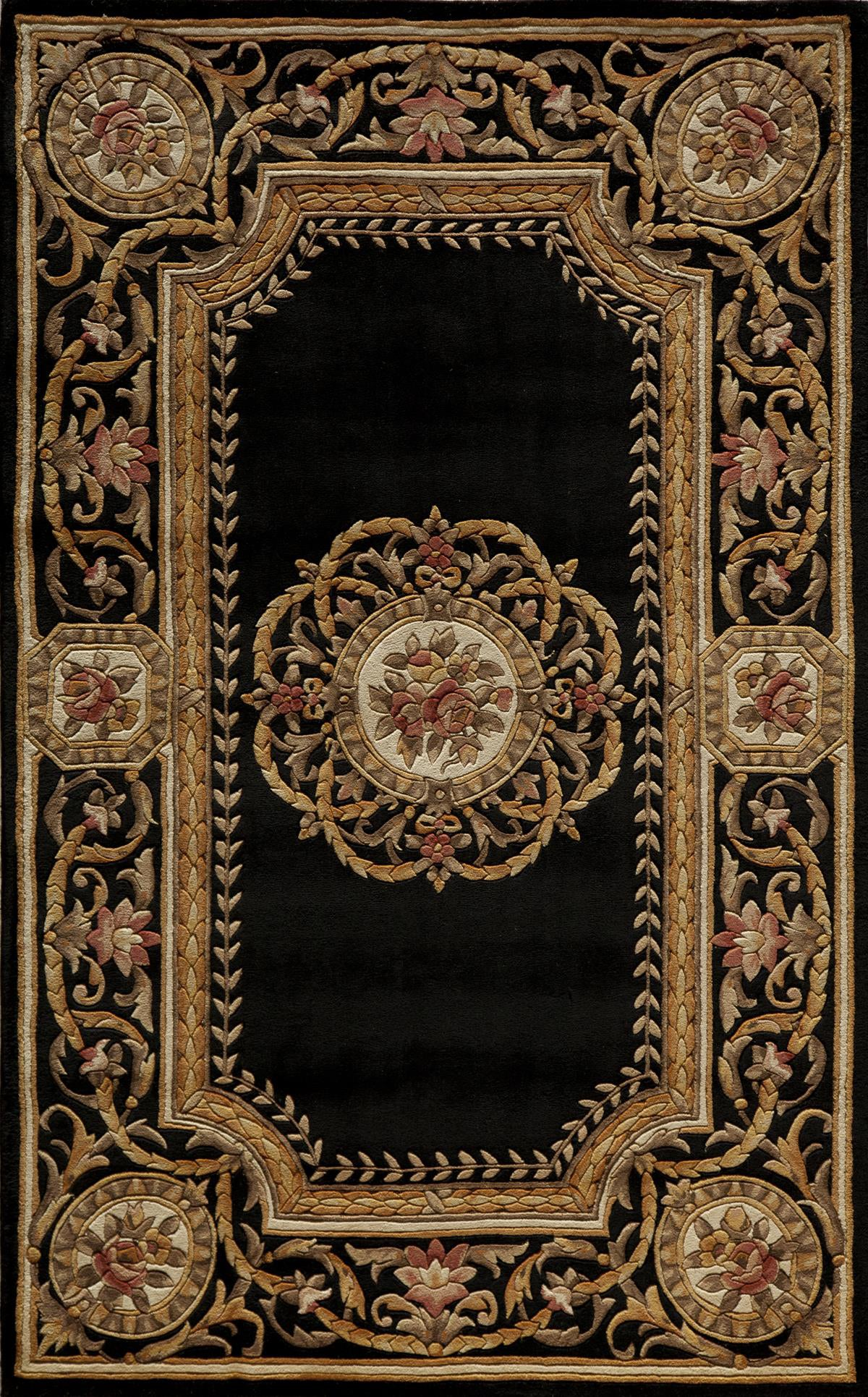 Momeni Harmony HA-12 Black Area Rug main image