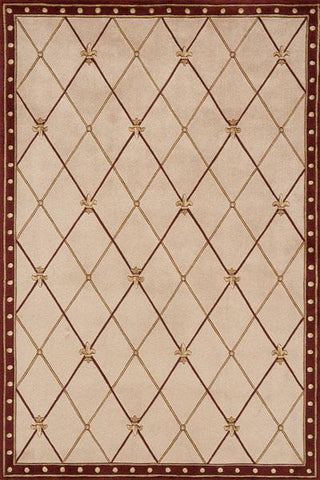 Momeni Harmony HA-30 Red Area Rug main image