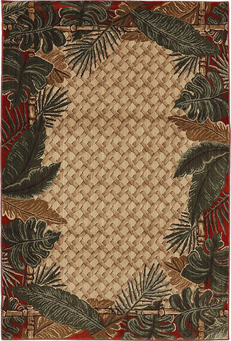 Mayberry Harbor Bay HB90440-Rain Forest Multi Area Rug
