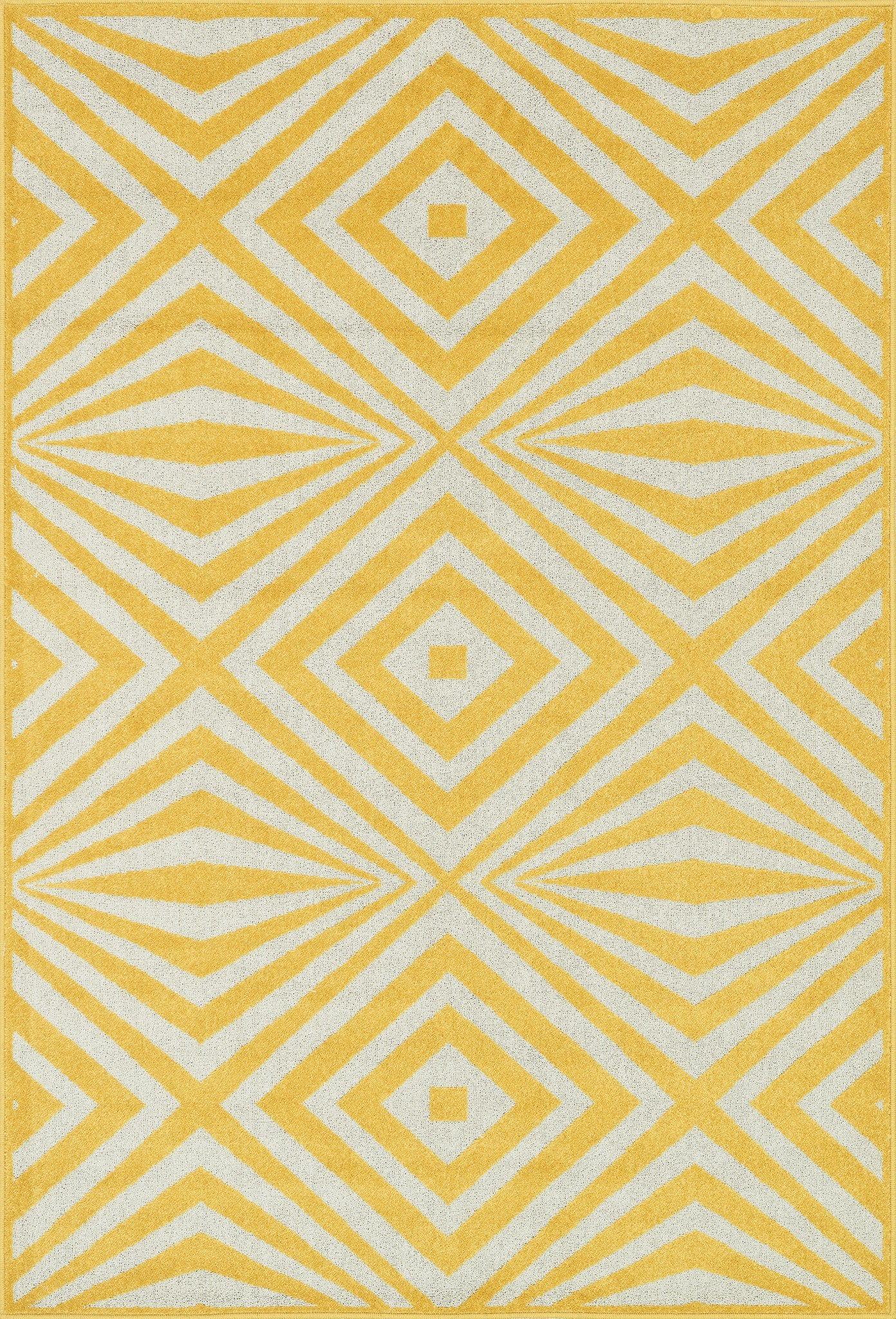 Loloi Catalina HCF04 Lemon / Ivory Area Rug main image