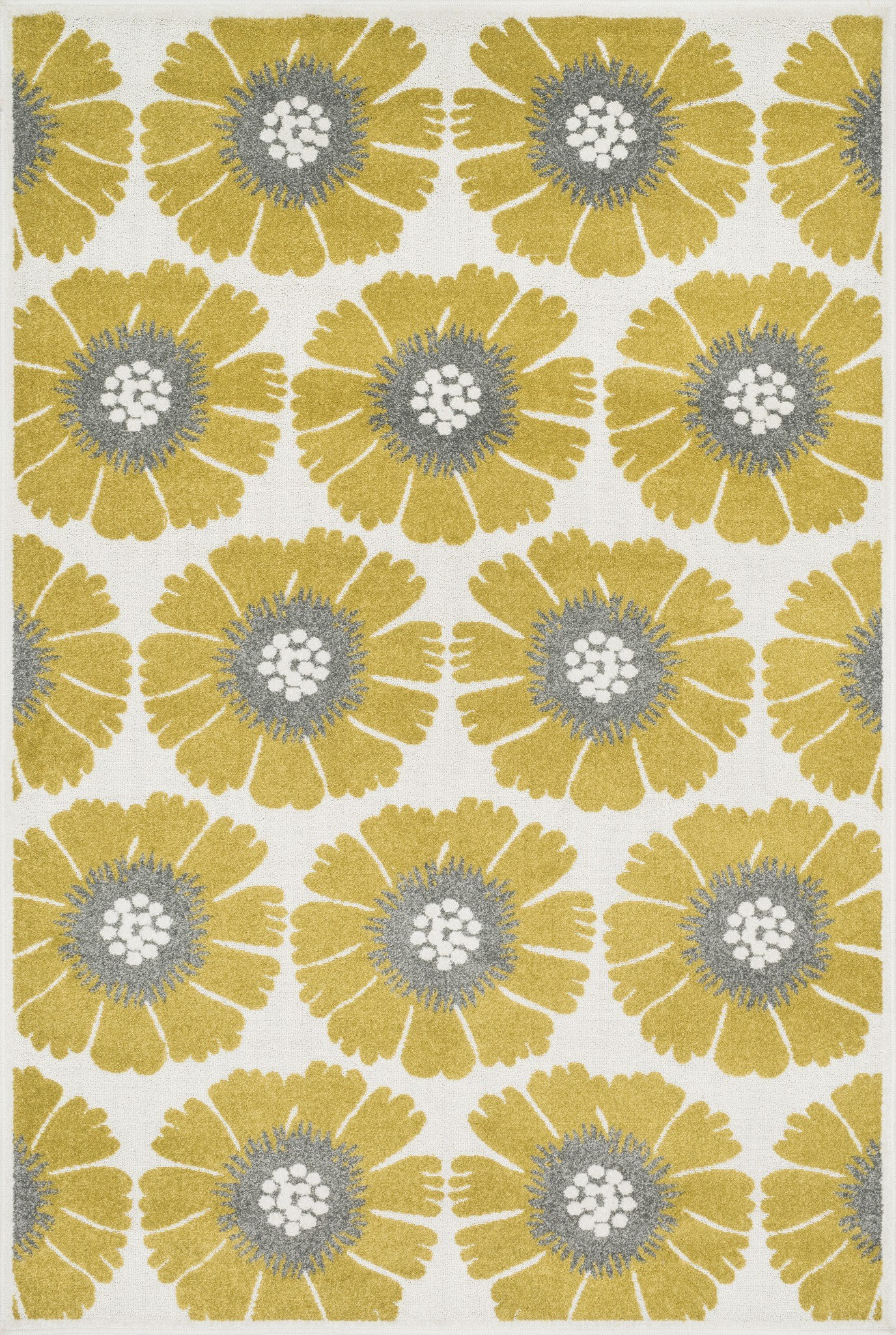 Loloi Catalina HCF08 Citron / Multi Area Rug main image