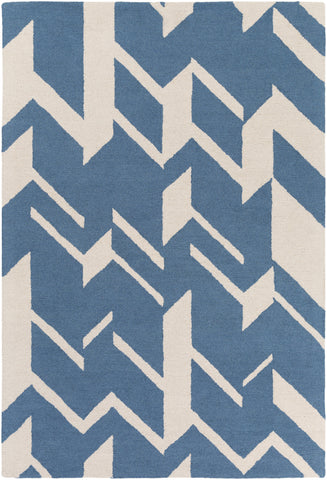 Artistic Weavers Hilda Annalise Denim Blue/Ivory Area Rug main image