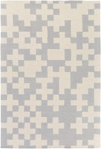 Artistic Weavers Hilda Beatrix Light Gray/Ivory Area Rug main image