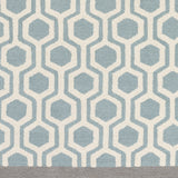 Artistic Weavers Hilda Eva Light Blue/Gray Area Rug Swatch