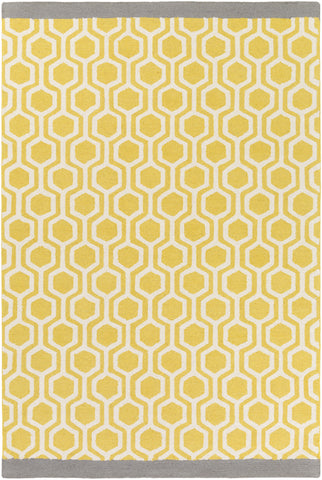 Artistic Weavers Hilda Eva Light Yellow/Gray Area Rug main image