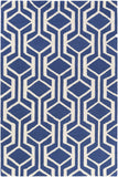 Artistic Weavers Hilda Gisele Royal Blue/Ivory Area Rug main image