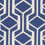 Artistic Weavers Hilda Gisele Royal Blue/Ivory Area Rug Swatch