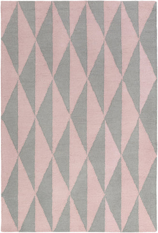 Artistic Weavers Hilda Sonja Light Pink/Gray Area Rug main image