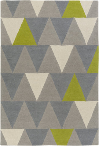 Artistic Weavers Hilda Rae Lime Green/Gray Area Rug main image