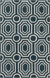 Surya Hudson Park HDP-2102 Teal Area Rug by angelo:HOME