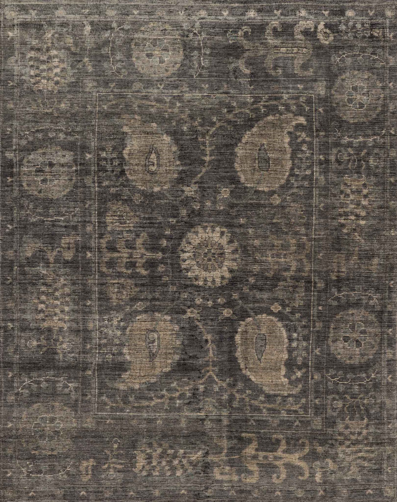 Loloi Heirloom HQ-02 Taupe/Taupe Area Rug main image