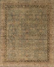 Loloi Heirloom HQ-04 Aqua/Terracotta Area Rug