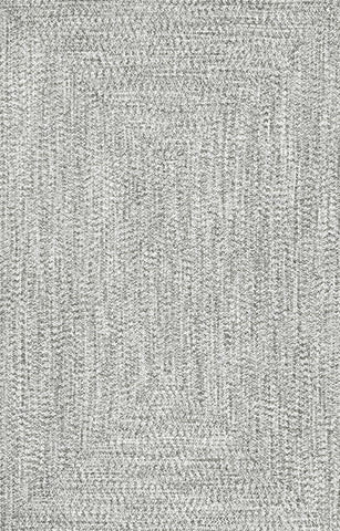 nuLOOM Braided Lefebvre HJFV01C Salt and Pepper Area Rug main image