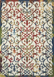 Nourison Home and Garden RS093 Multicolor Area Rug