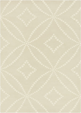 Surya HQL-8020 Light Gray Hand Tufted Area Rug by Harlequin