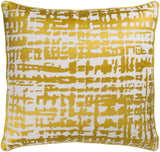 Surya Hessian HSS003 Pillow by Florence Broadhurst