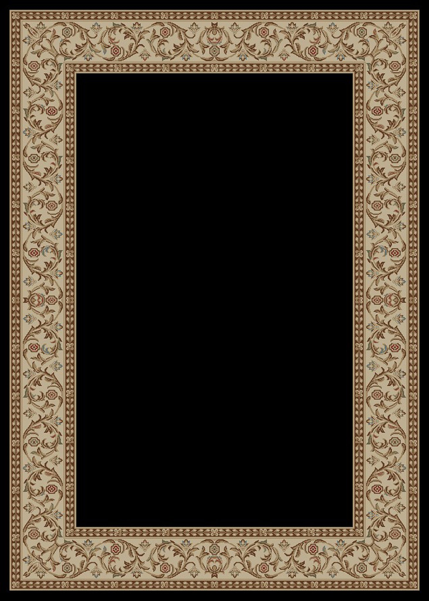 Mayberry Home Town HT6603-Bella Ebony Area Rug