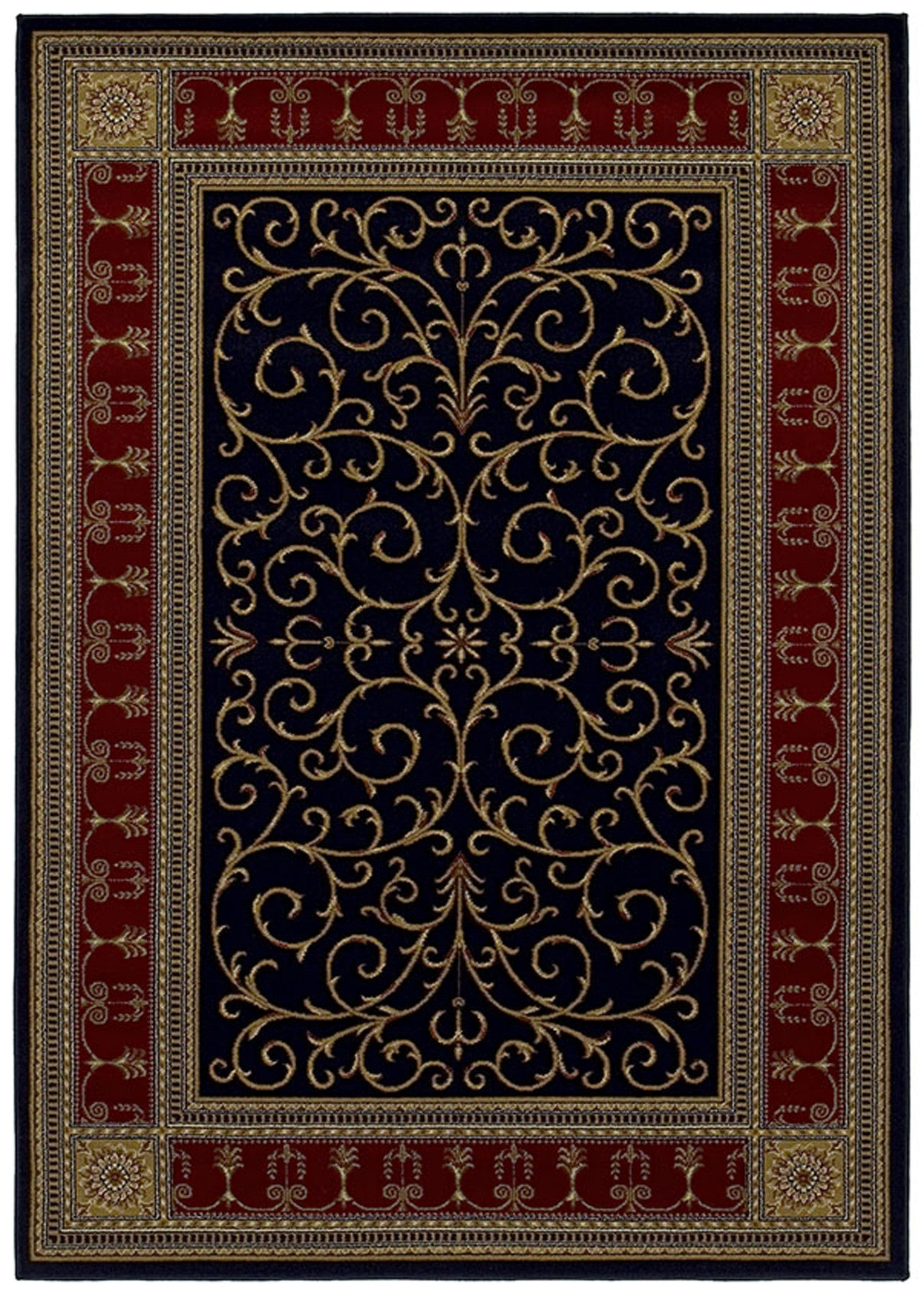 Mayberry Home Town HT7973-Paloma Ebony Area Rug