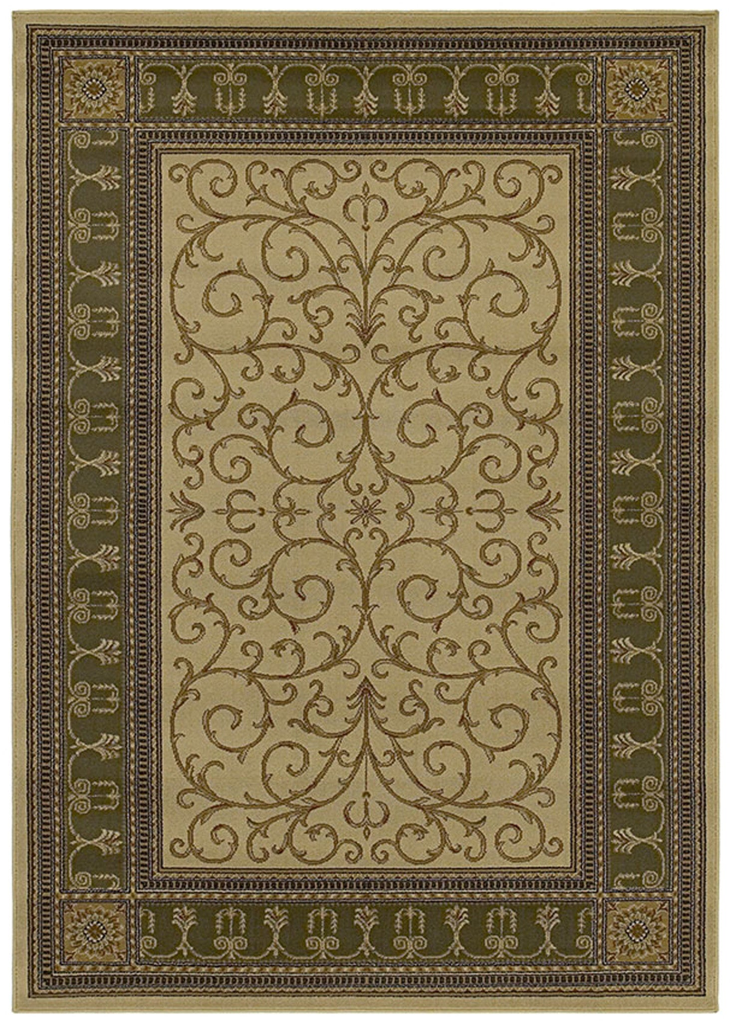 Mayberry Home Town HT7975-Paloma Beige Area Rug