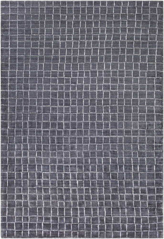 Surya Hightower HTW-3006 Grey/White Area Rug main image