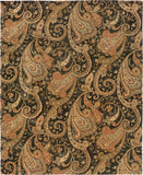 Oriental Weavers Huntley 19104 Black/Gold Area Rug main image