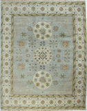 Bashian Vintage I123-HSA111 Light Blue Area Rug