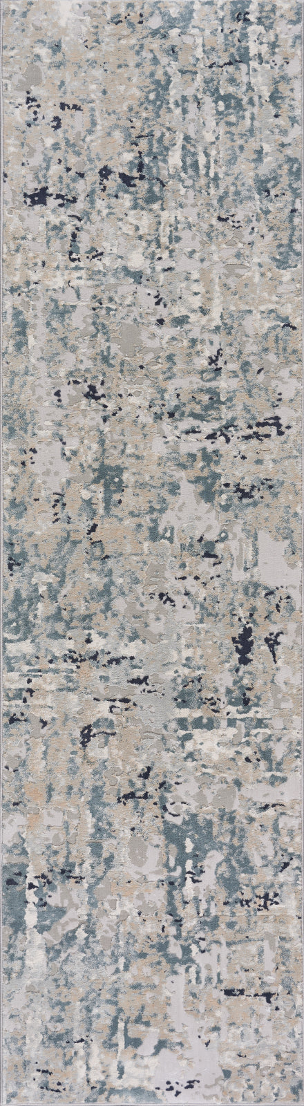 LR Resources Imagine Harbor Mist Blue Area Rug main image