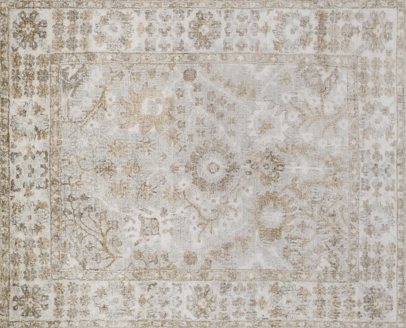 Loloi Imperial IM-02 Silver/Ivory Area Rug main image