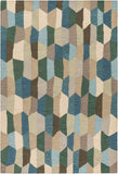 Surya Inman INM-1002 Blue/Green Area Rug main image