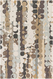 Surya Inman INM-1006 Brown/Grey Area Rug main image