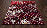 Art Carpet Titanium IS-00-010 Red Area Rug