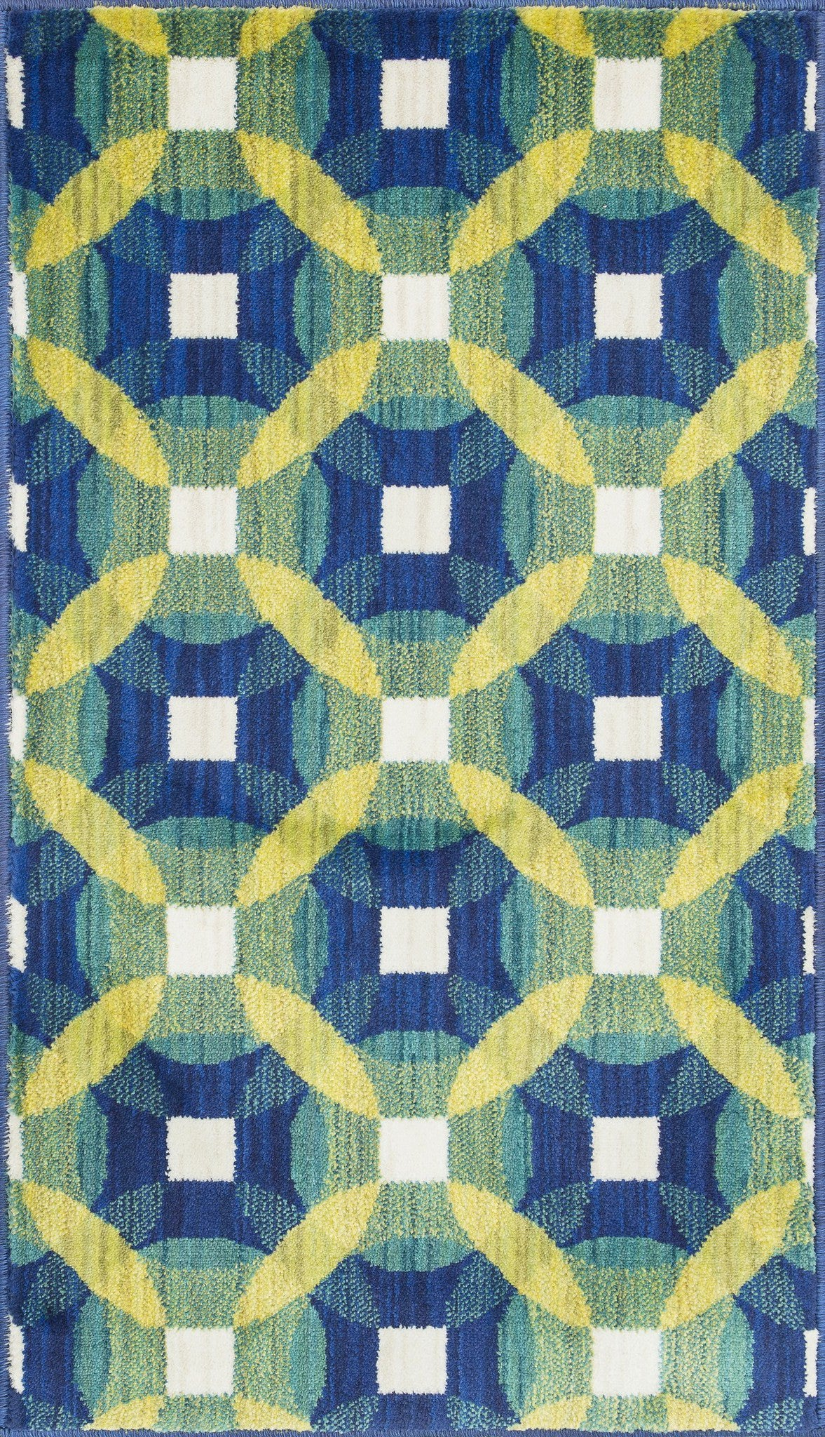 Loloi Isabelle HIS09 Blue / Multi Area Rug main image
