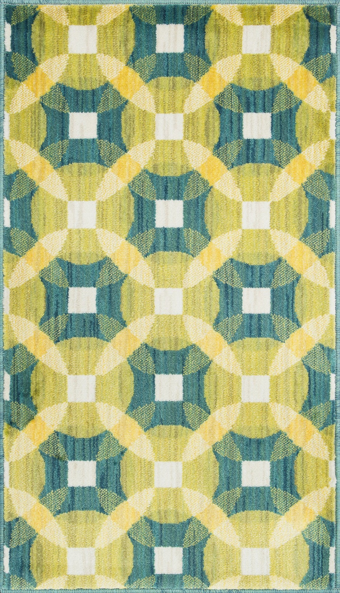 Loloi Isabelle HIS09 Teal / Multi Area Rug main image
