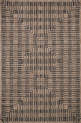 Loloi Isle IE-09 Brown/Black Area Rug main image