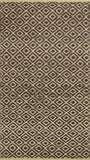KAS Izteca 0360 Mocha Diamonds Hand Woven Area Rug