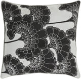 Surya Japanese Floral JA002 Pillow by Florence Broadhurst
