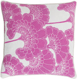Surya Japanese Floral JA004 Pillow by Florence Broadhurst