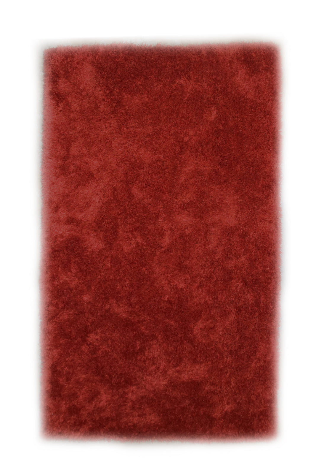 JazzyFloors Mason Solid Red Area Rug main image