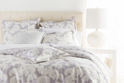 Surya Japanese Floral JFB-2003 Gray Bedding by Florence Broadhurst