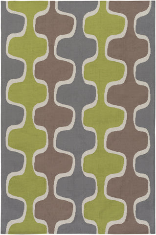 Artistic Weavers Joan Clermont Lime Green/Gray Area Rug main image