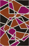 Artistic Weavers Joan Holloway Hot Pink/Bright Orange Area Rug main image