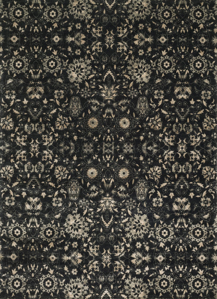 Loloi Journey Jo 09 Black Silver Area Rug Incredible Rugs And Decor