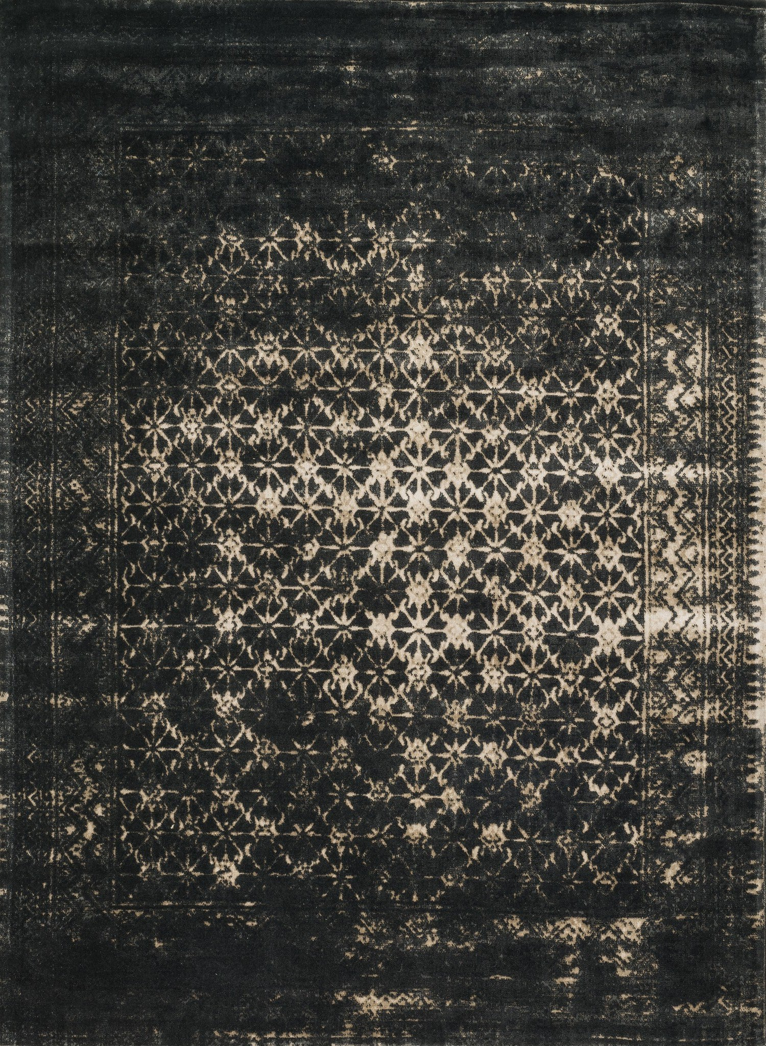 Loloi Journey JO-10 Black / Tan Area Rug main image