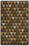 Rizzy Julian Pointe JP8760 Brown Area Rug