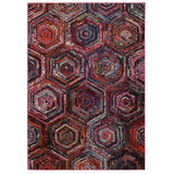 LR Resources Jubilee 81003 Multi Area Rug 7'8'' X 9'8''