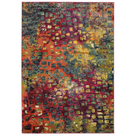LR Resources Jubilee 81005 Multi Area Rug main image
