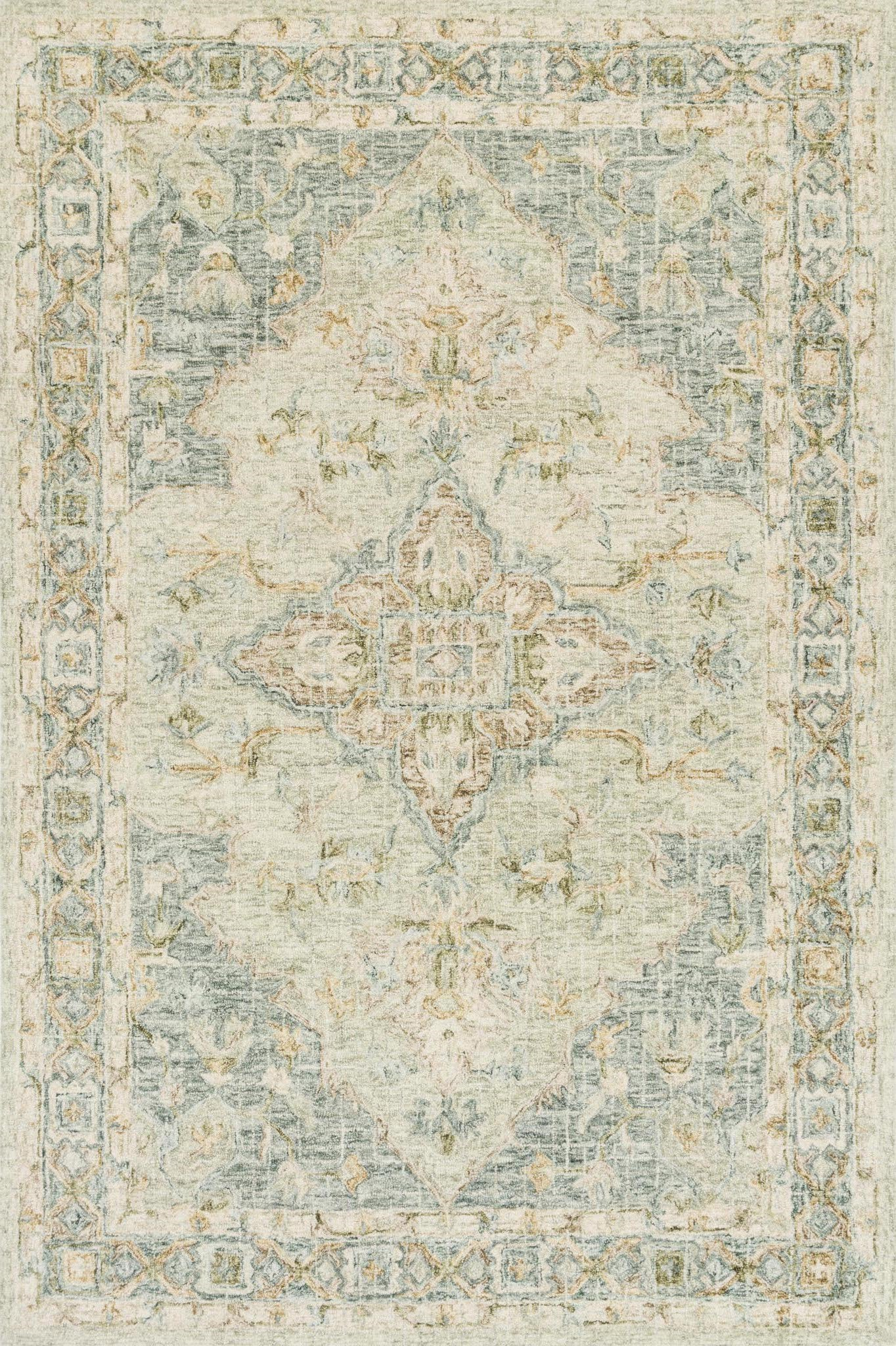 Loloi Julian JI-07 Seafoam Green/Spa Area Rug main image